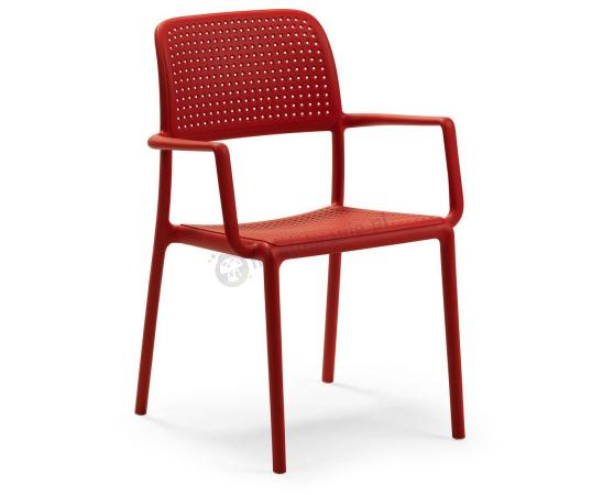 Nardi Bora krzesło balkonowe Rosso