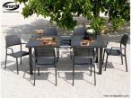 Aranżacja z użyciem krzeseł Nardi Bora