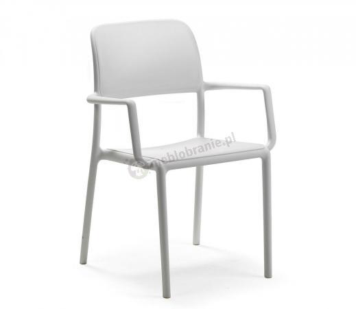 Nardi Riva krzesło balkonowe plastikowe Bianco