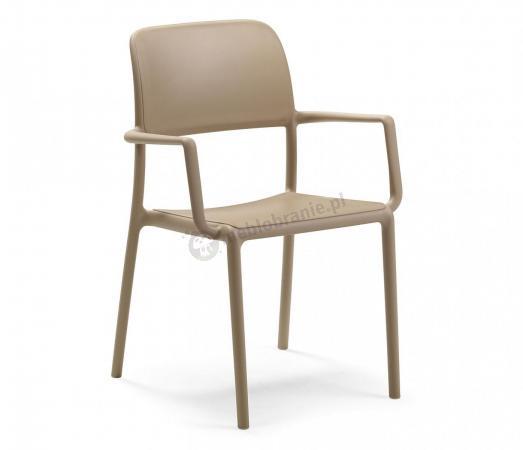 Nardi Riva krzesło balkonowe plastikowe Avana