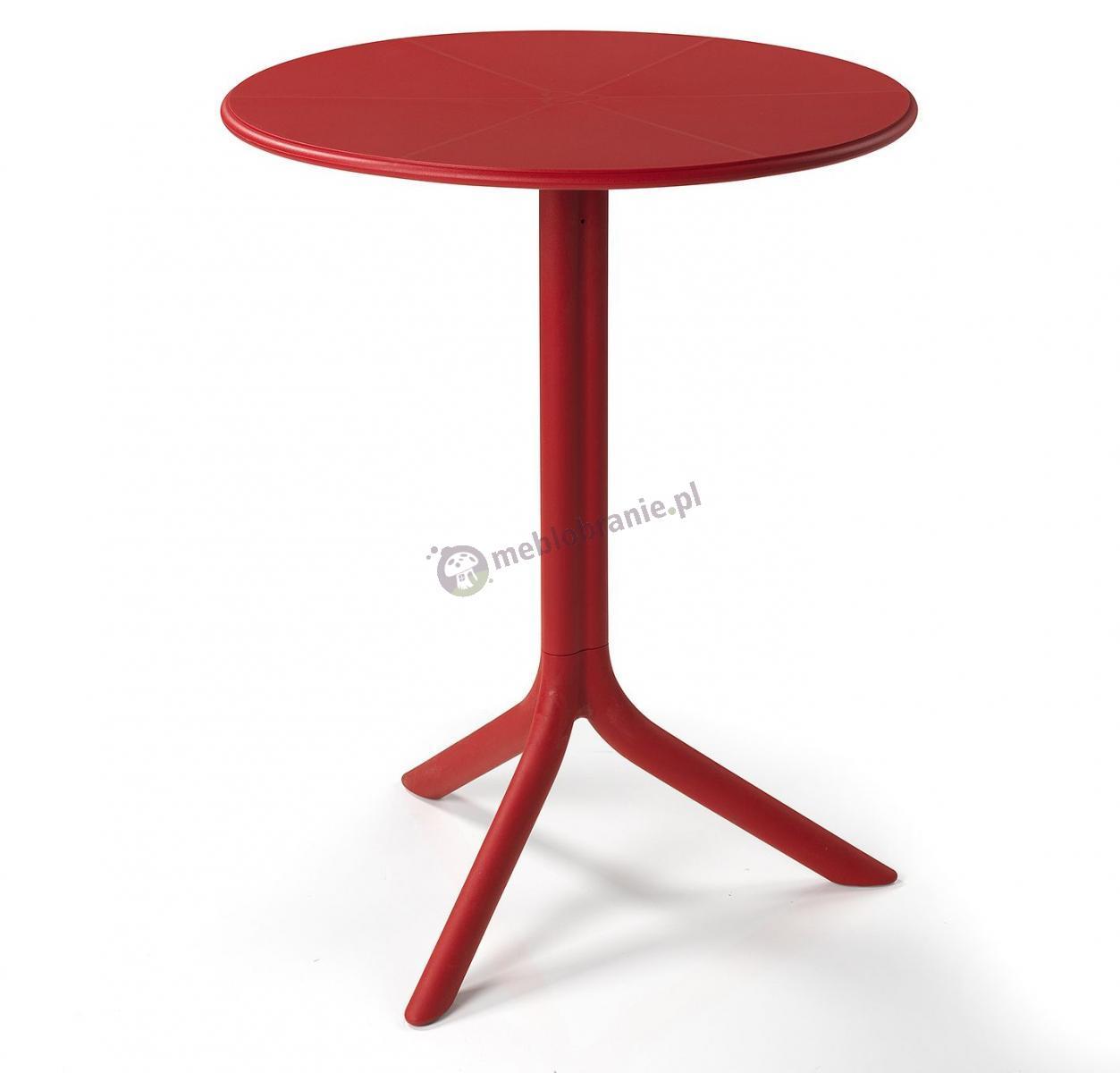 Nardi Spritz stolik ogrodowy plastikowy Rosso