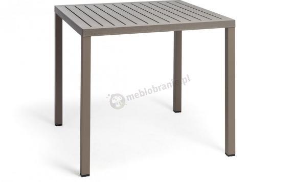 Nardi Cube stół kwadratowy 80x80