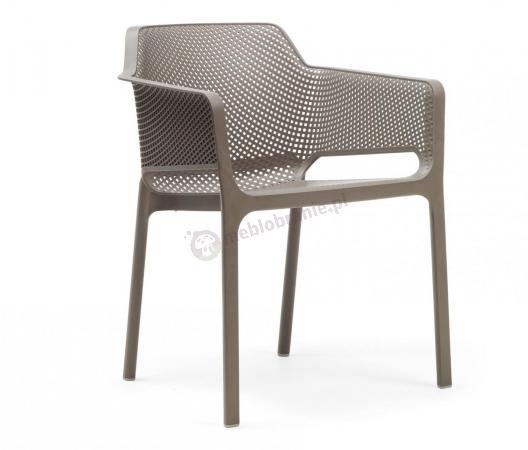 Nardi Net nowoczesne krzesło do ogrodu Tortora
