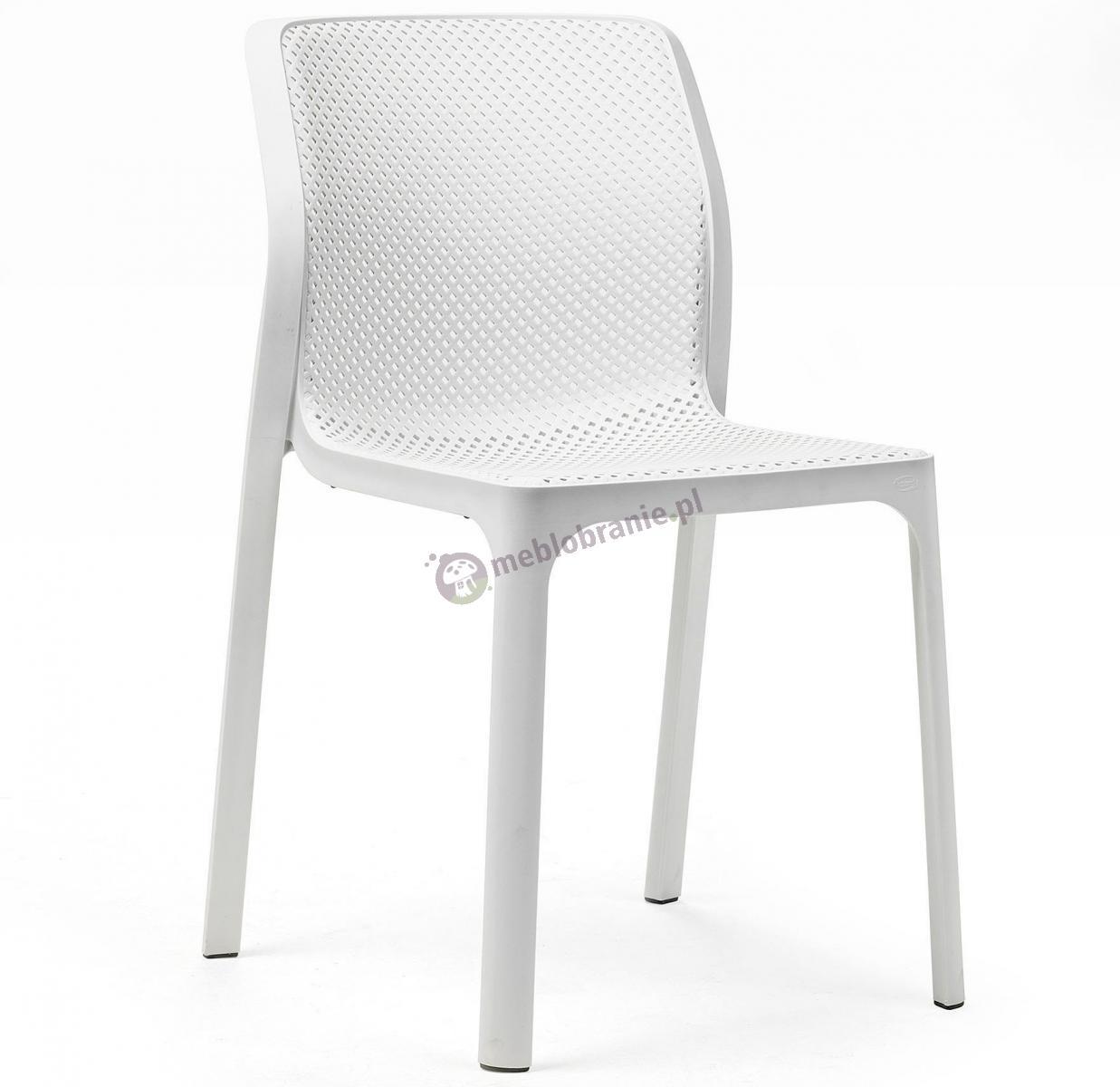 Nardi Bit krzesło ażurowe na taras Bianco