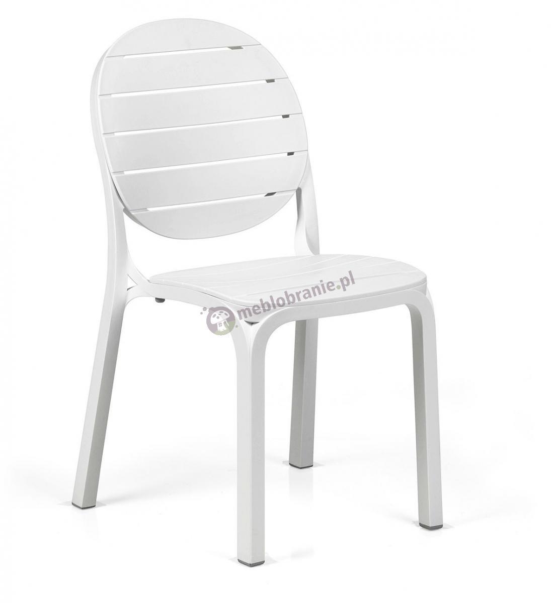 Nardi Erica krzesło na balkon Bianco/Bianco