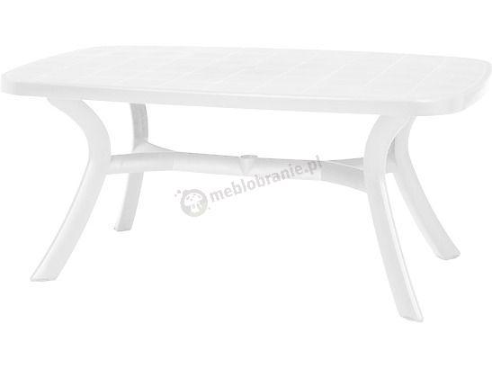 Nardi Toscana 165 stół plastikowy ogrodowy Bianco