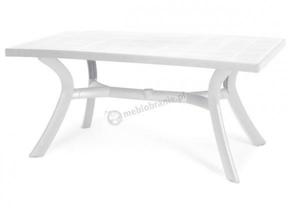 Nardi Toscana 160 stół ogrodowy plastikowy Bianco