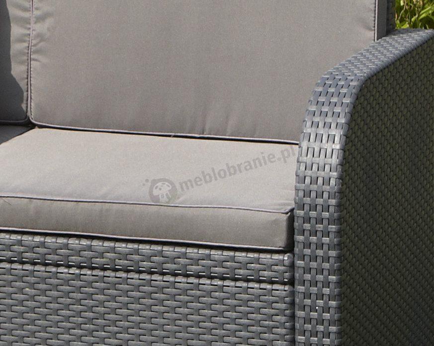 Meble Ogrodowe Aluminiowe Zestaw Ogrodowy Modena : Modena Lounge Set  Allibert by Keter  Zestaw ogrodowy  Meblobranie
