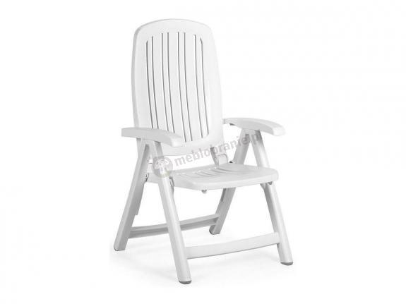 Nardi Salina krzesło ogrodowe regulowane Bianco