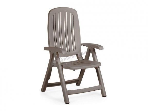 Nardi Salina krzesło ogrodowe regulowane Tortora