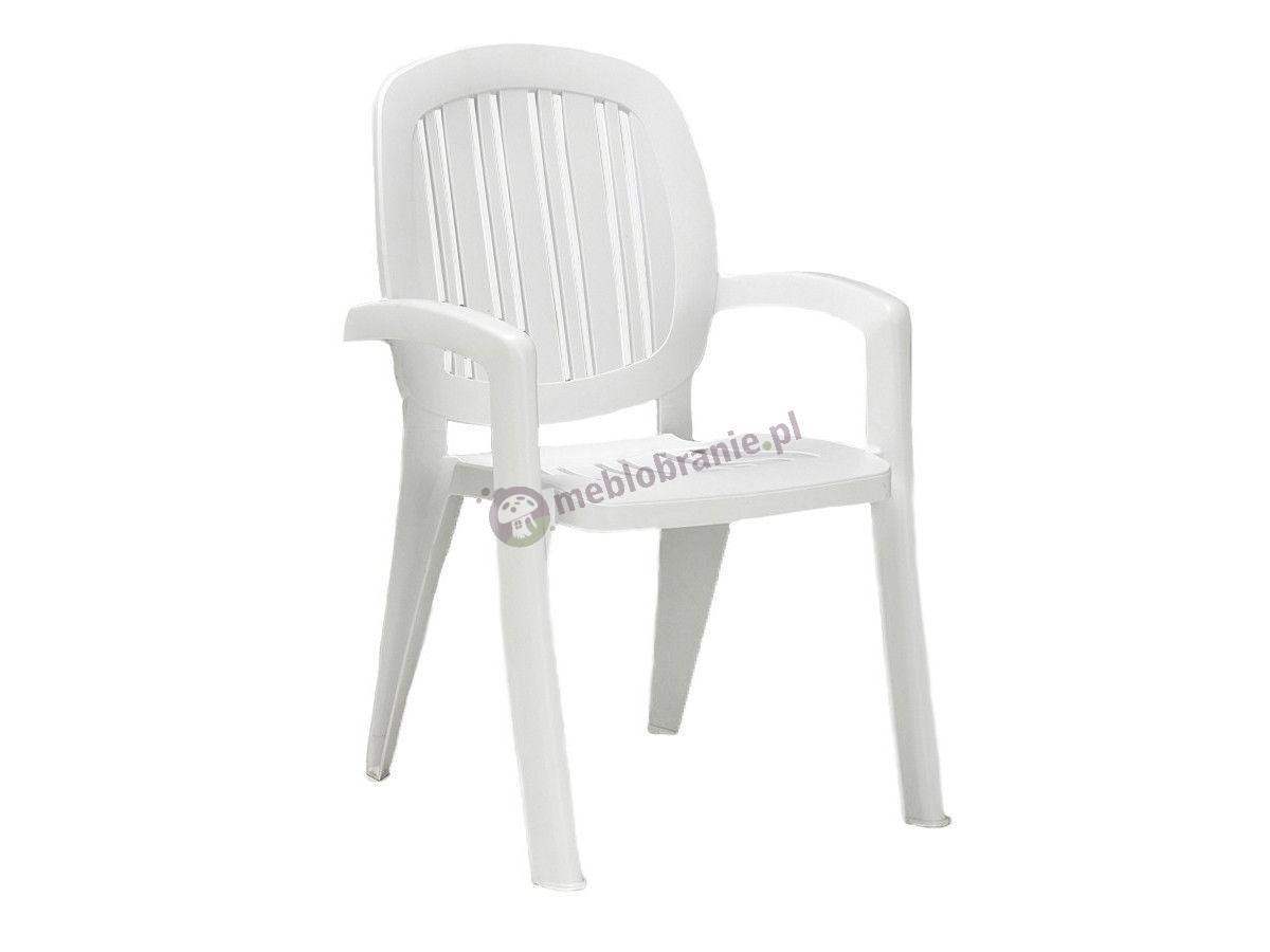 Nardi Creta krzesło tarasowe Bianco