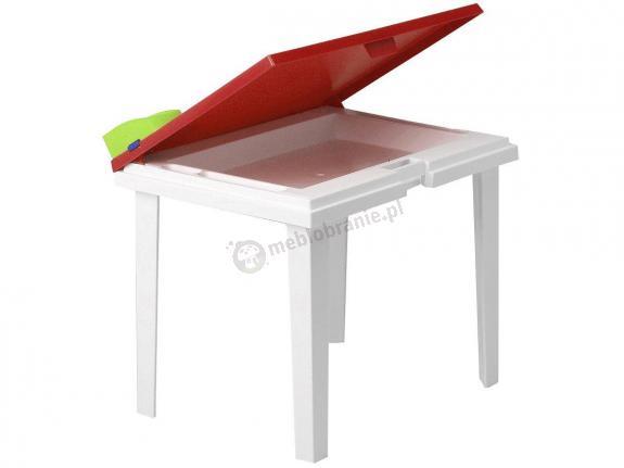 Nardi Aladino stolik ogrodowy dla dzieci Rosso