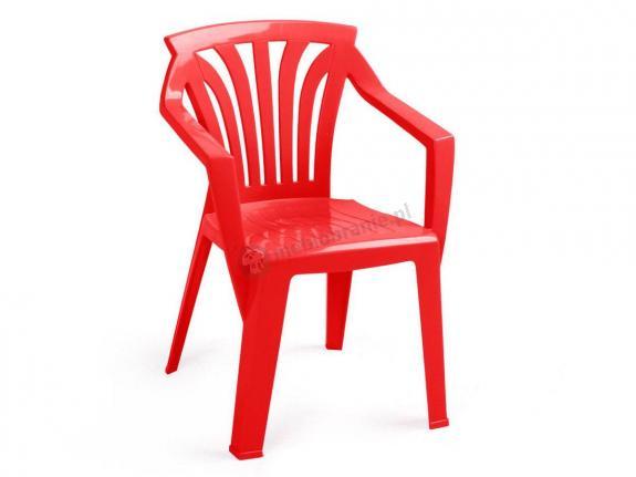 Nardi Ariel krzesło ogrodowe dla dzieci Rosso