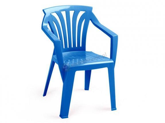 Nardi Ariel krzesło ogrodowe dla dzieci Azzurro