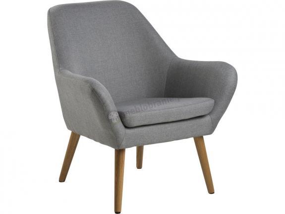 Actona Astro fotel nowoczesny design jasnoszary