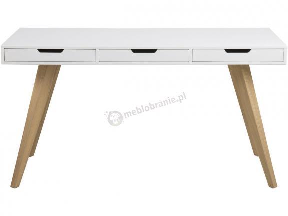 Actona Estelle biurko skandynawskie białe
