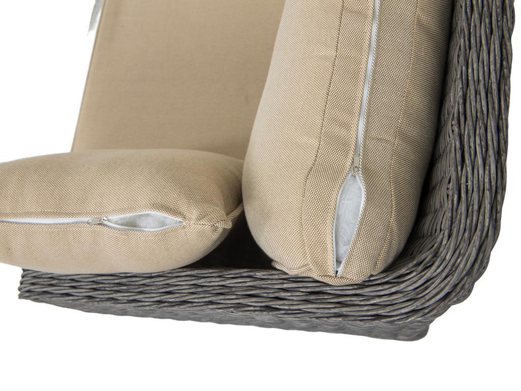Poduszki w zestawie technorattan Gambito Grey