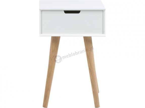 Actona Mitra szafka nocna drewniana biała