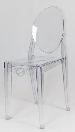 Krzesło transparentne plastikowe KR003