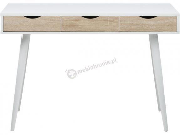 Actona Neptun drewniane biurko z szufladami