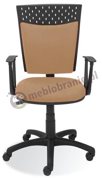 Stillo krzesło biurowe obrotowe kremowe
