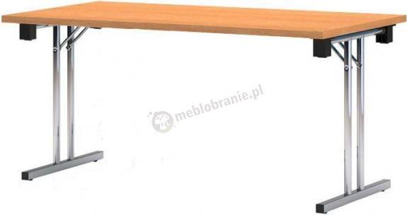 Stół konferencyjny składany PREMIUM chromowany - 180x80 cm