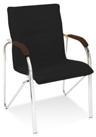 Samba krzesło do biura wenge/czarne