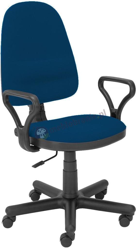 Bravo GTP krzesło obrotowe komputerowe niebiesko-czarne C14