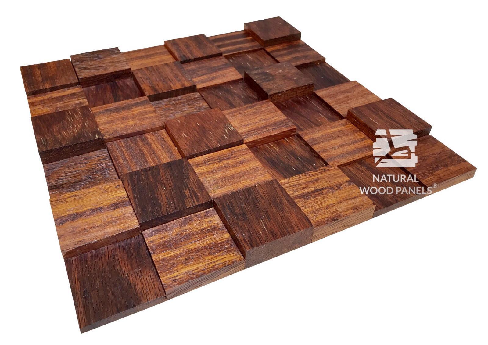 Kostka Merbau - Natural Wood Panels