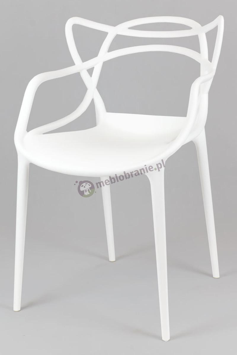 Krzesło Masters KR013 białe inspirowane