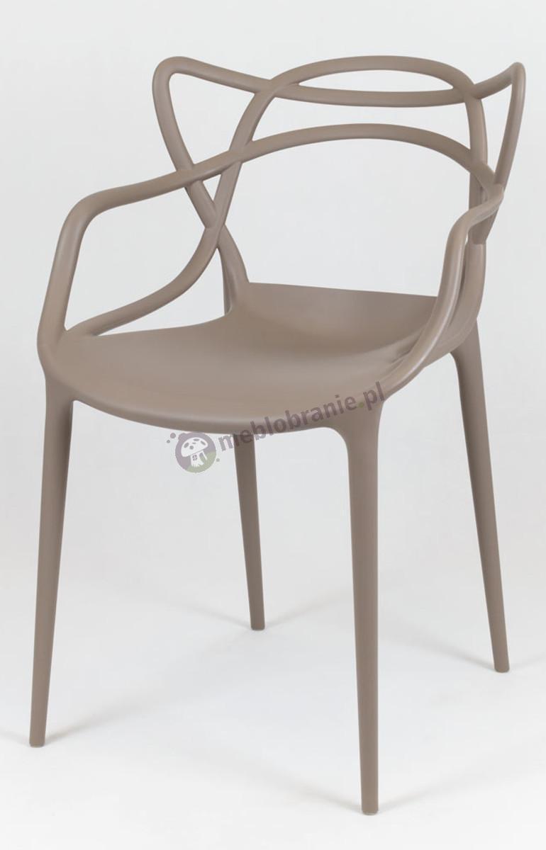 Krzesło inspirowane Masters KR013 kawa z mlekiem