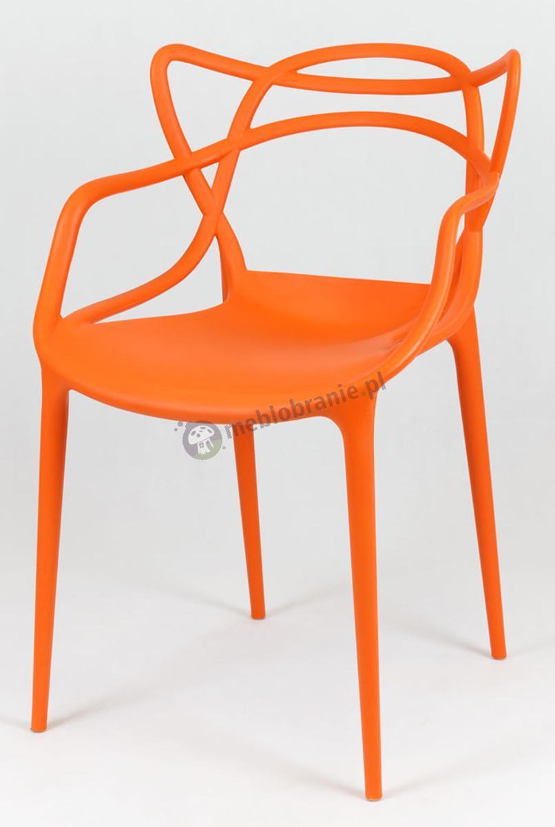 Masters krzesło KR013 inspirowane pomarańczowe