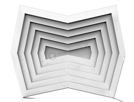 Panele dekoracyjne 3D Zango White Flash - ZICARO