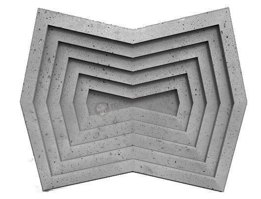 Panele dekoracyjne 3D Zango Gray Rock - ZICARO