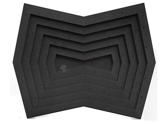 Panele dekoracyjne 3D Zango Graphite Lava - ZICARO