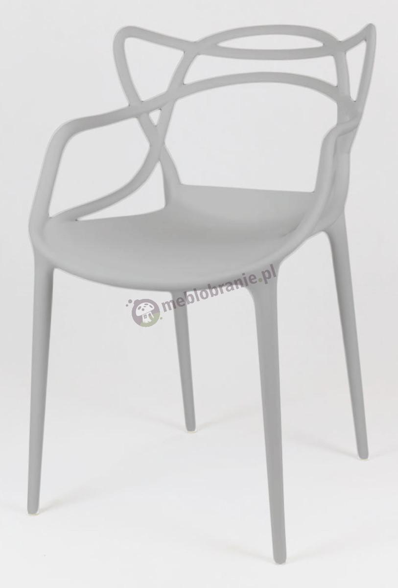 Inspirowane krzesło Masters KR013 szary