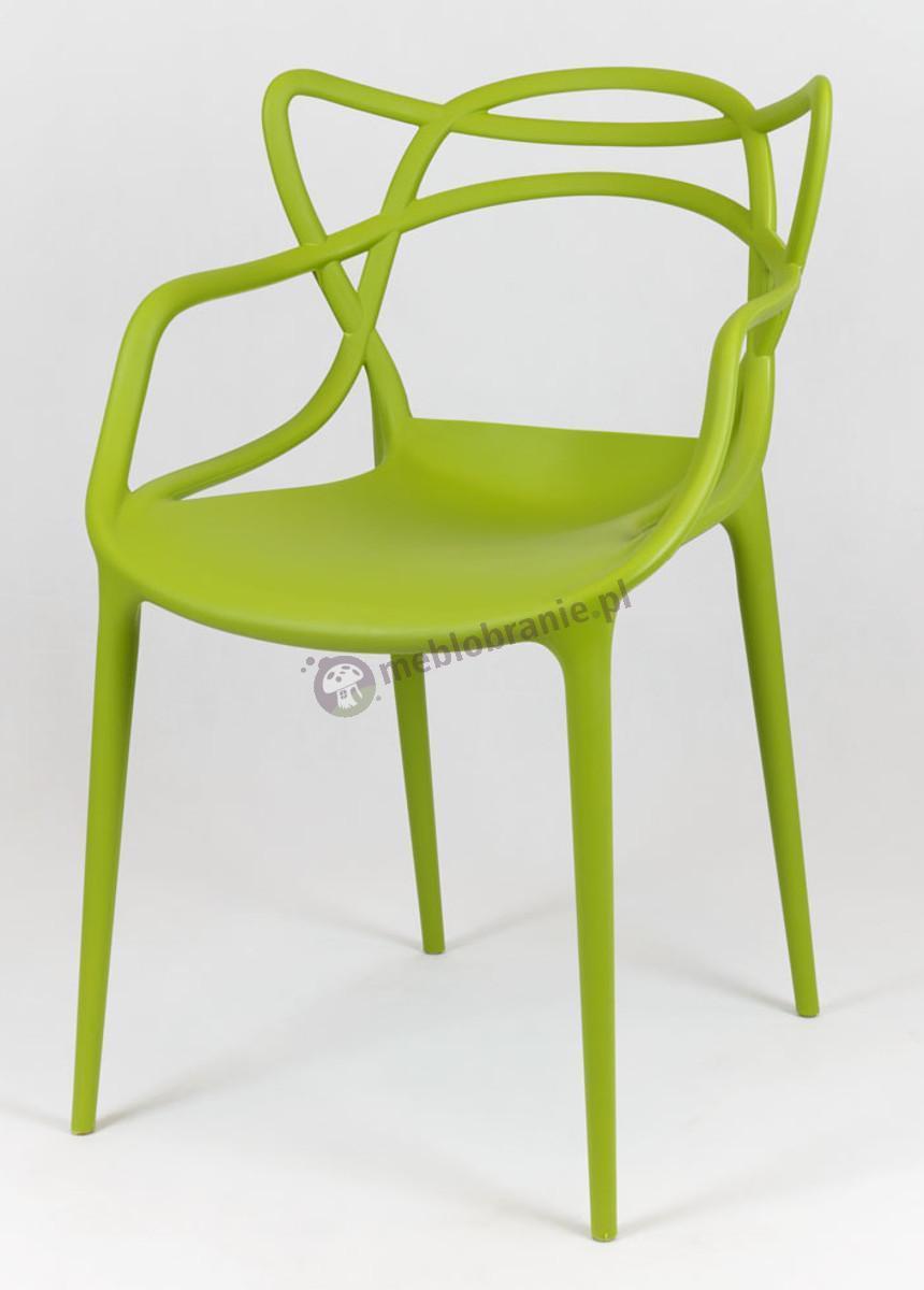 Zielone krzesło inspirowane Masters KR013