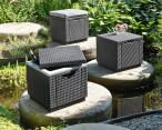 Keter Cube - siedzisko ze schowkiem