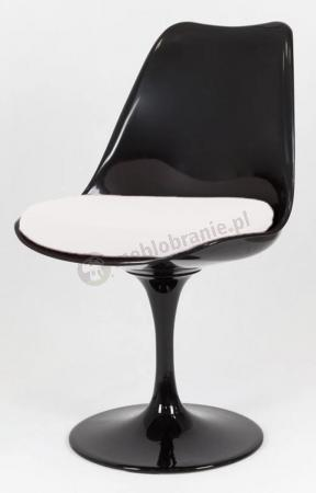 Krzesło obrotowe czarne KR029
