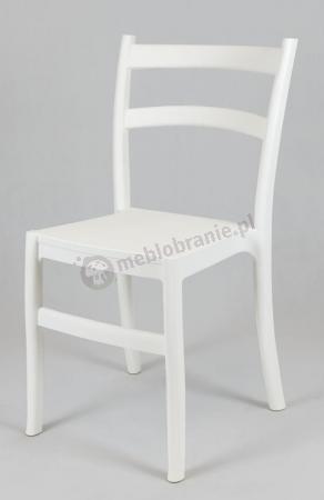 Krzesło Retro KR032 białe