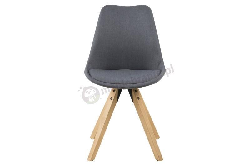 Actona Dima krzesło design skandynawski - front krzesła