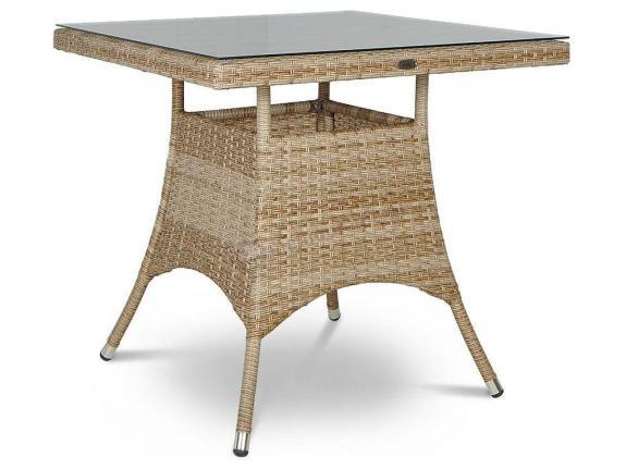 Lugo Modern Beige stół technorattan