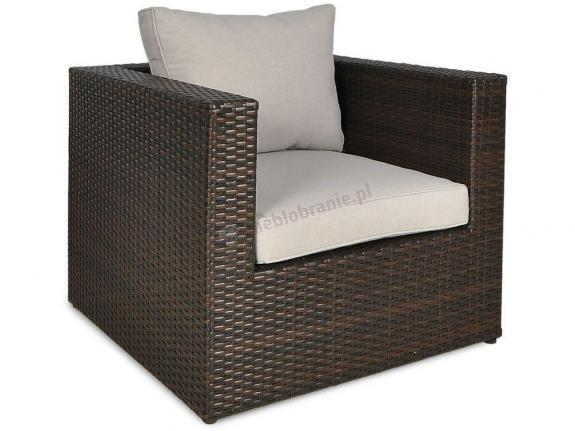 Fotel technorattan Rodos 1 Brown
