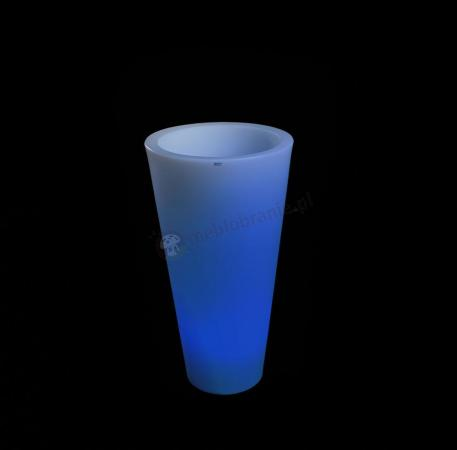 Donica Della podświetlana - 75cm - LED RGB z pilotem