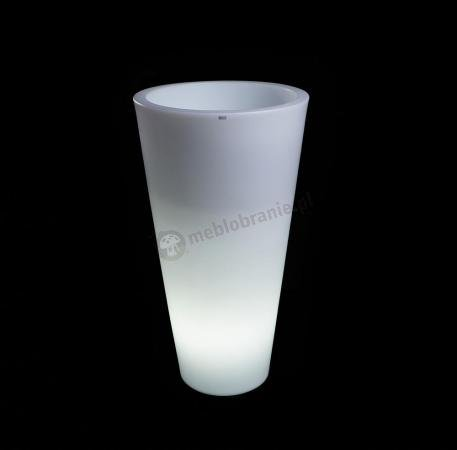 Donica Della podświetlana - 90cm - światło zimne