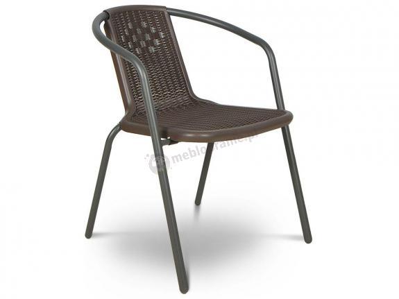 Krzesło ogrodowe Simple Brown