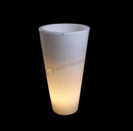 Donica Della podświetlana - 90cm - światło ciepłe
