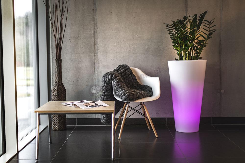 Donica Della podświetlana LED RGB