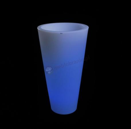 Donica Della podświetlana - 90cm - LED RGB z pilotem