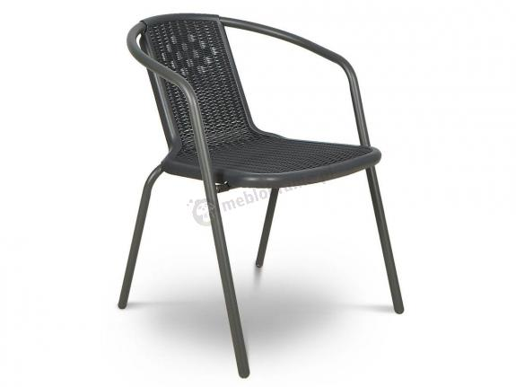 Krzesło ogrodowe Simple Graphite
